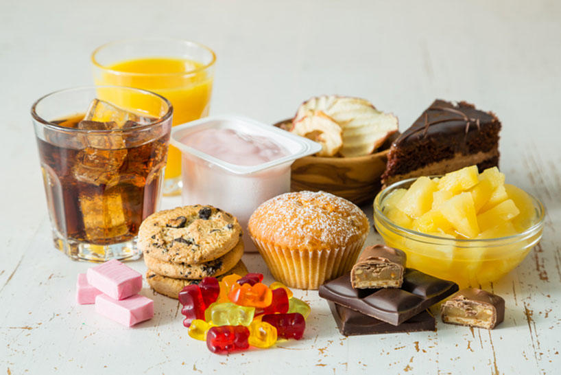 Added Sugar in Beverages and Desserts