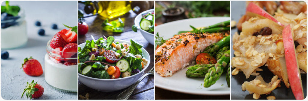 Nutritious Breakfast Lunch and Dinner Foods